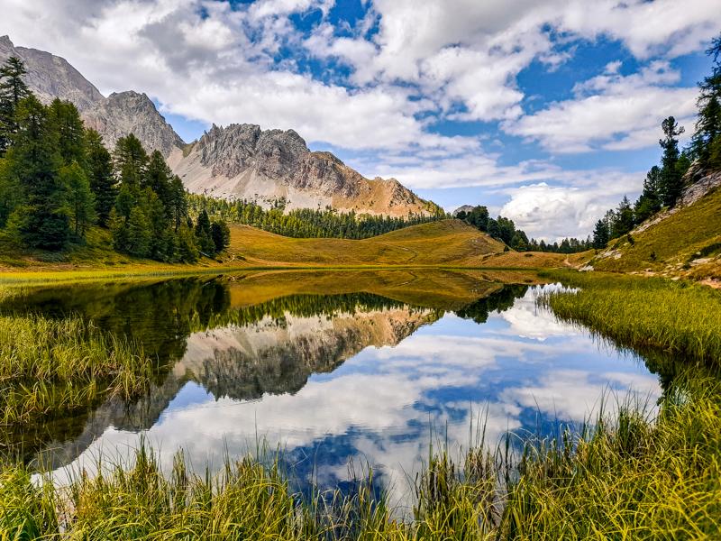 Randonnée lac miroir par guides-embrun.com